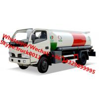 2017s high quality and lowest price CLW 5,000Liters oil dispensing truck for sale, HOT SALE! CLW 5cbm refueler truck Manufactures