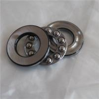 Chrome steel GCr15 Cylindrical Roller Thrust Bearing 51101 , high precision Manufactures