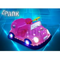 Promotion Children Indoor Bumper Car Ride Game Machine with LED light Manufactures