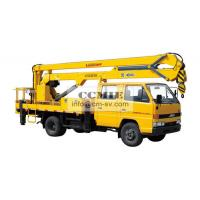 High Lifting Platform Special Vehicles Truck Mounted Lift With 2000kg Max Manufactures