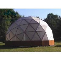 Flame Retardent Large Dome Tent , Dome Event Tent For Outdoor Camping Manufactures