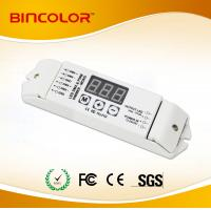 Professional 10A 12V 24V One Channel PWM DMX512 power decoder