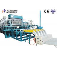 Green / Orange Color Egg Carton Making Machine Energy Saving 35m*15m*6m Manufactures
