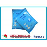 Disposable Wet Wash Glove No Irritation Microwavable With Non - Woven Material Manufactures