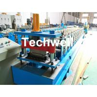 HRC58-62 Hardness Standing Seaming Roofing Panel Machine For Making Roof Wall Cladding , Roofing Sheet Manufactures