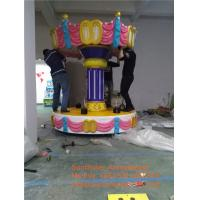 Quality China Amusement Park Rides Manufacturer Luxury 6player Horse Carousel For Sale for sale
