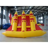 Quality Crazy Towable Surfing Water Sport Games Fordable Inflatable Flying Fish Boat 6 Person for sale