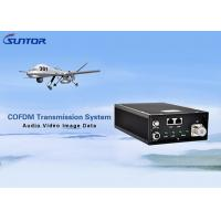 No Delay COFDM Transmitter , High Power Video Transmitter With Dual RJ45 Port Manufactures