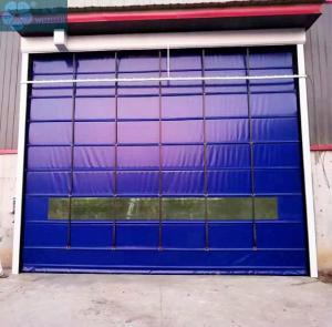 Wind Resistant 2mm 304SS Roller Shutter Doors Manufactures