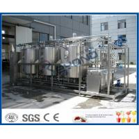 1000L - 10000L Cleaning In Place System , Cip Systems Dairy Industry With 4 Tank Double Circuits Manufactures