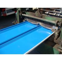 Lock Forming Grade Cold Rolled  Prepainted Galvanized Steel coil  Polyester Paint for sandwich panels Manufactures
