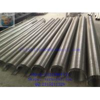 Quality wire wound stainless steel screen pipe / wedge wire screen tube / perfect for sale