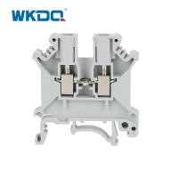 LUK3N Din Rail 35mm Electrical Terminal Block With 2.5mm2 Connector Manufactures