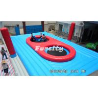 Good Quality 0.55mm PVC Tarpaulin Beach Volleyball Game Colorful Inflatable Sports Games Manufactures