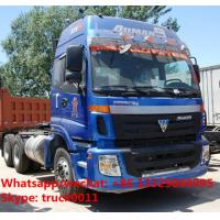 Quality best seller-FOTON AUMAN 6*4 340hp diesel semitrailer tractor head for sale, hot for sale