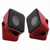 2.0-ch Computer Speaker with 2.5W x 2 RMS Manufactures