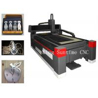 China 1500 X 3000mm Fiber Optic Laser Cutting Machine With Pre - View Pre - Position Function on sale