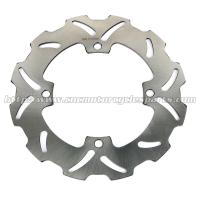 4mm Thickness Motorcycle Brake Disc Solid Wave Disk RMZ 250 450 Stainless Steel Manufactures