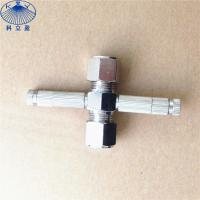 China High pressure metal sliplock , thread type misting nozzle fittings on sale