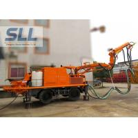 Full Automatic Concrete Spraying Machine With Remote Control Four Wheel Drive Manufactures