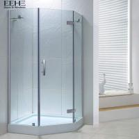 China Sandy Silver Bathroom Shower Cubicles / Walk In Bathroom Shower Cabin on sale
