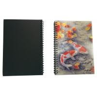 Wires Colored 80 Pages A5 3D Plastic Cover Notebooks For School Use Manufactures