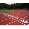400 Meters Modular Outdoor FlooringSpray Coat System For Athlete Running Manufactures