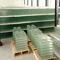 260x60x7 mm Thickness U shaped channel Glass for building showroom Manufactures