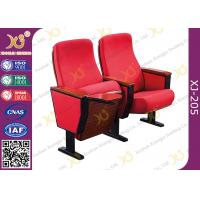 Buy cheap High Density Sponge Church Pulpit Chairs With Strong Steel Base / Movie Theater from wholesalers