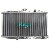 2 Row Aluminum Car Radiators , High Effective Solder Aluminum Radiator Manufactures