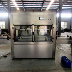 SUS304 PET Bottle Edible Oil Bottle Filling Machine For Non Viscous Liquid Filling Manufactures