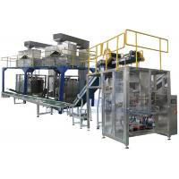 Pet Food Pouches Secondary Packaging Machine , Full Auto Bagging Machine Manufactures
