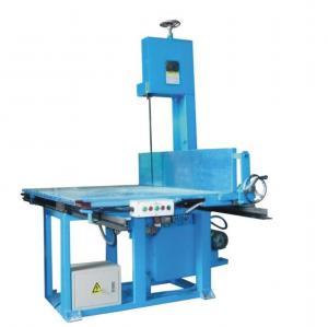 High Accuracy Vertical Sponge Foam Cutting CNC Machine For Special Shape Slicing Foam Manufactures