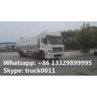cheapest price 26tons chick feed delivery truck for sale, hot sale dongfeng tianlong 40m3 chick feed pellet tank truck Manufactures