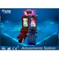 Attractive Cartoon Design Racing Game Machine With Metal firm structure Manufactures