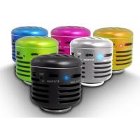 Quality Silver Mini Wireless Cell Phone Speakers  for sale