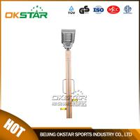 wooden street lamp outdoor fitness massager for legs Manufactures