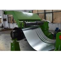 China 380V 50Hz 3 Phase Cold Coil Steel Slitting Lines 30m / Minute Green Color on sale