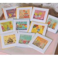 Colorful Recycled Paper Christmas Cards , Funny Paper Birthday Cards Manufactures