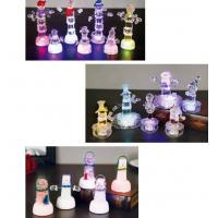 Snow Shape Color Changing Led Night Light , Acrylic Led SnowmanFor Outdoor Decorative Manufactures