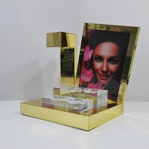 Magnetic Levitation Retail POS Displays , Acrylic Makeup Display Stand Manufactures