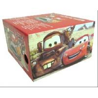 Promotional Full Color Printed 8 * 6 * 5 Inch Corrugated Gift Box For Toy Car Packaging Manufactures