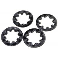 Hardened Metal Stamping Parts Steel Internal Toothed Lock Washer DIN 6797 Type J Manufactures