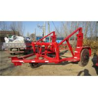 Cable Reel Trailer,Cable Reel Puller,Cable Conductor Drum Carrier Manufactures