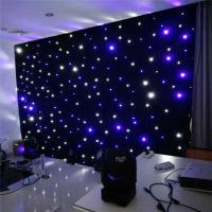 Customized Size Christmas led light led light stage curtain led curtain wedding Manufactures