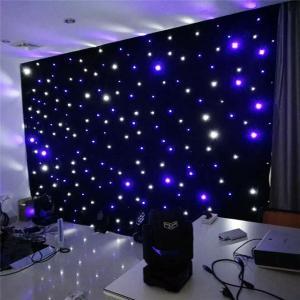 Singapore LED Star Cloth fiber wedding mandap decoration led light Manufactures