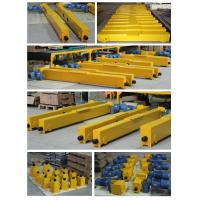 High Strength Profile 1 ~ 100T Crane End Carriage For Overhead Crane / Gantry Crane Manufactures