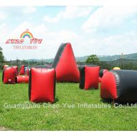 Inflatables Paintball Bunker Field with Air Pump, Paintballs Wholesale Manufactures