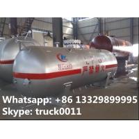 high quality and competitive price 3000kg lpg gas tank for sale, factory price CLW brand surface lpg gas storage tank Manufactures