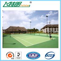 Acrylic Tennis Court Surface Outdoor Flooring Customized High Wearing Resistance Manufactures